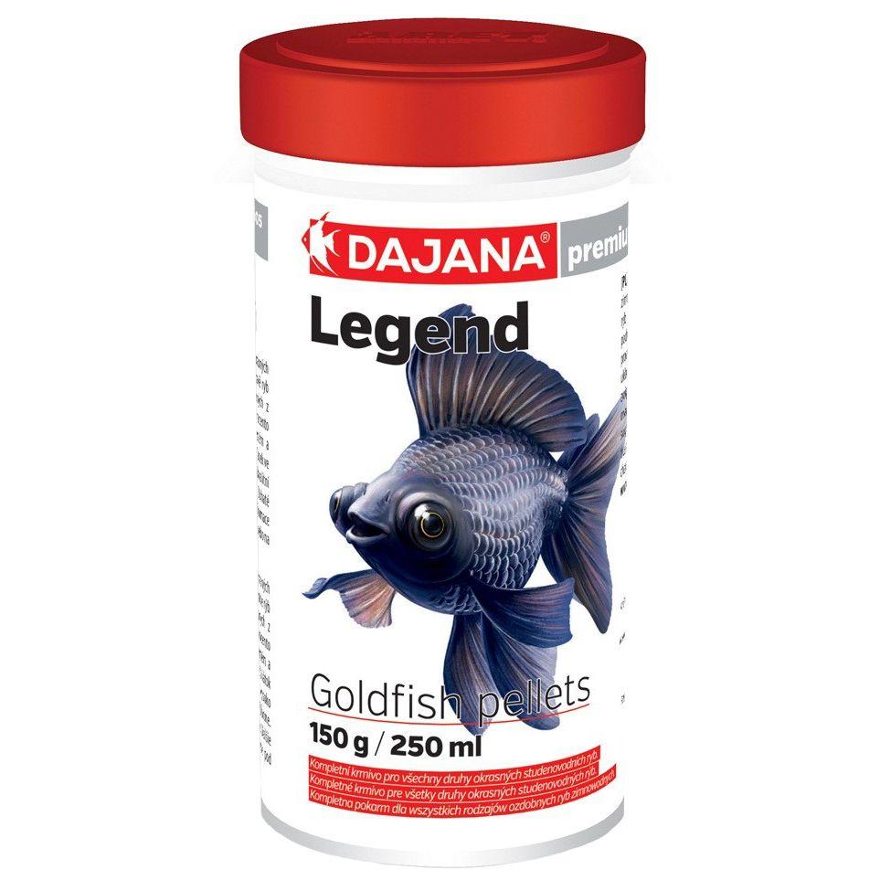 Корм для рыб DAJANA Legend Goldfish Pellets гранулы 55г (100мл) биокомпостин искра 55г