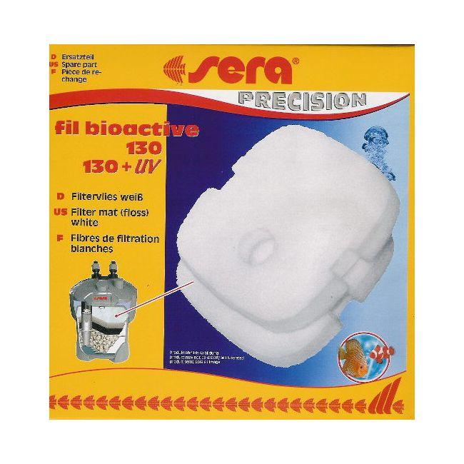 Губка SERA белая синтепон для фильтра 130 и 130+УФ (S30630)