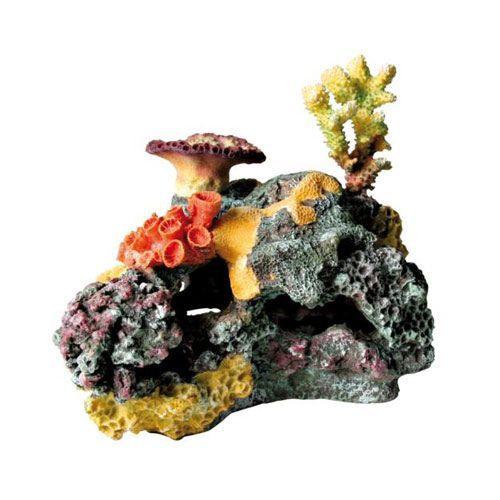 Фото - Грот для аквариума TRIXIE КОРАЛЛОВЫЙ РИФ 32см риф