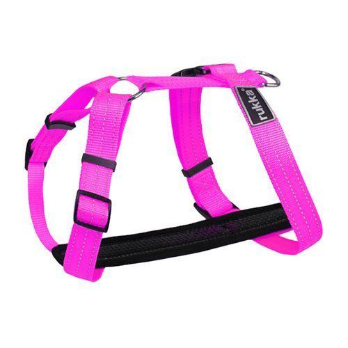 Шлейка для собак RUKKA 25мм (обхват 45-70см) розовая