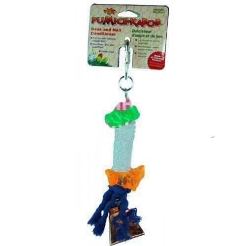 Игрушка для птиц PENN-PLAX BA911 Вулканический камень, средняя игрушка для птиц penn plax ba539 игровая площадка