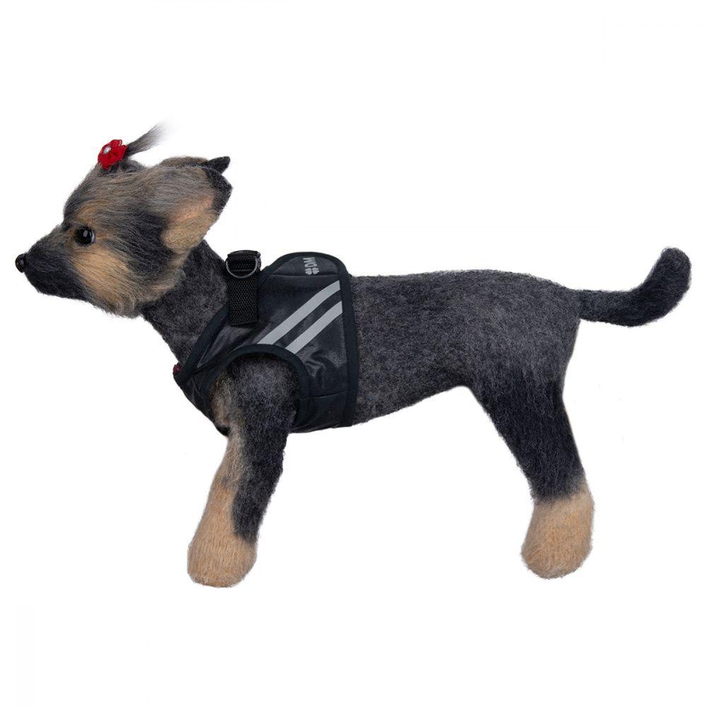 Шлейка-жилет светоотражающая для собак Dogmoda 1 32-35см шлейка жилет для собак dogmoda клетка бордо 2 16см