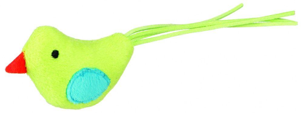 Игрушка для кошек TRIXIE Птичка плюш 7см