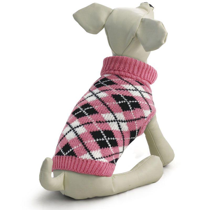 Свитер для собак TRIOL Классика S, розовый, размер 25см