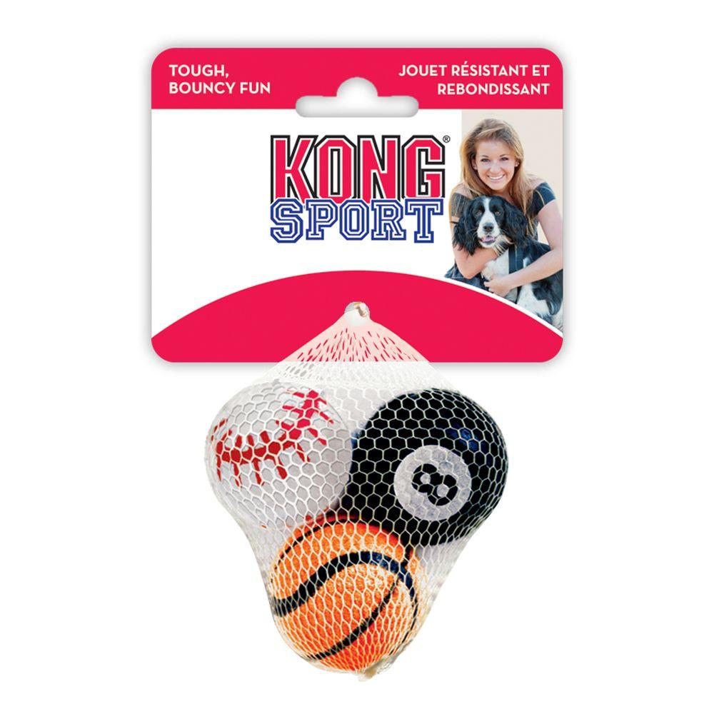 Игрушка для собак KONG Air Sport Теннисный мяч очень маленький 4см недорого