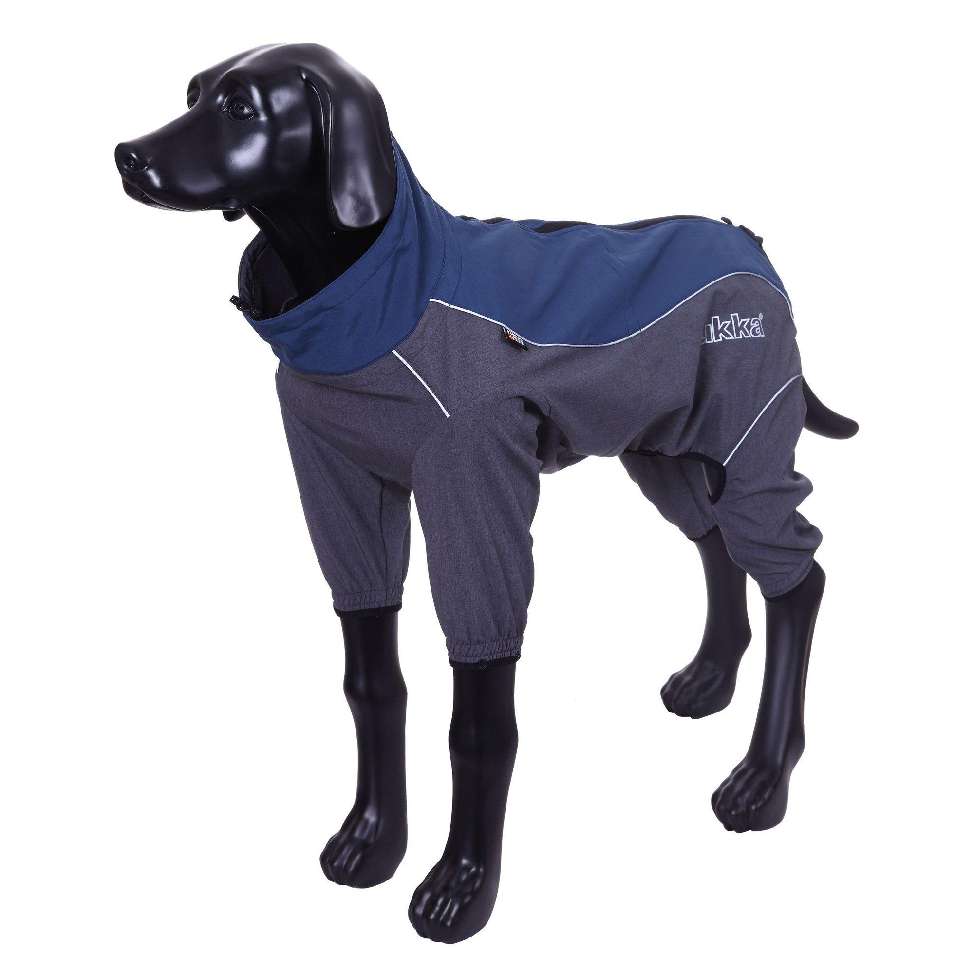 Комбинезон для собак RUKKA Windmaster Solid синий 50см