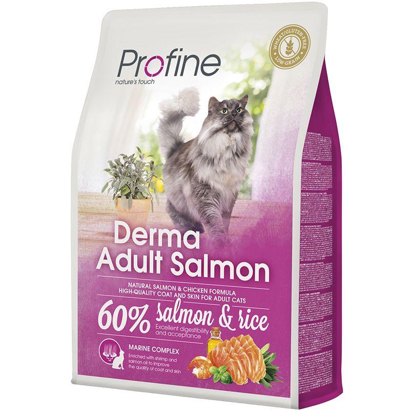 Корм для кошек PROFINE Derma лосось сух. 2кг