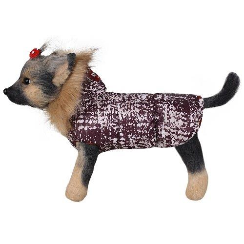 Куртка для собак Dogmoda Аляска девочка, размер 5 37см цена