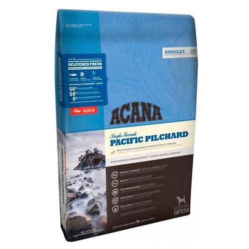 цена на Корм для собак и щенков ACANA Pacific Pilchard для всех пород, тихоокеанская сардина сух. 11,4кг