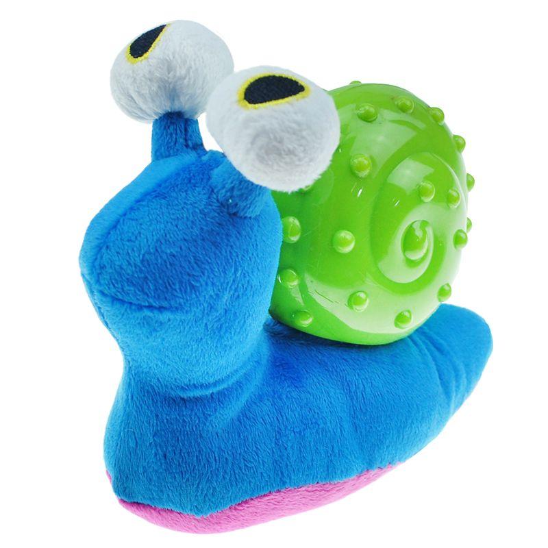 Игрушка для собак CHOMPER Pipsqueak Улитка с пищалкой