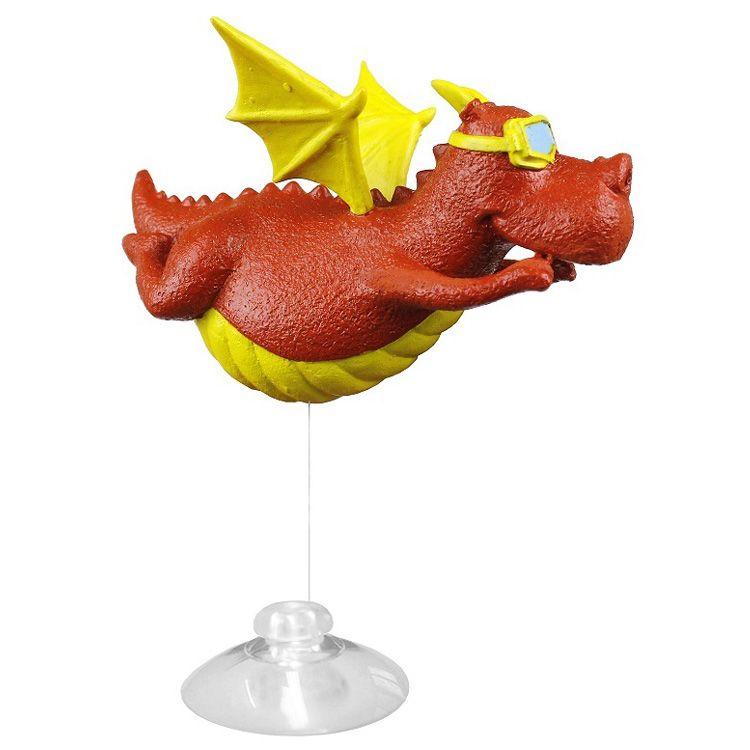 Декор для аквариумов PRIME Динозаврик (игрушка-поплавок) 12х10х7,5см