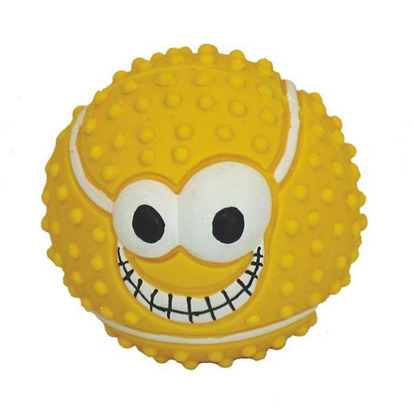 Игрушка для собак MAJOR Мяч с пищалкой 7,3см латекс