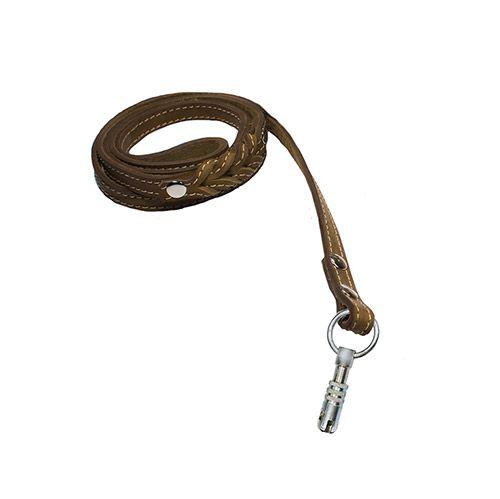 Поводок для собак ДАРЭЛЛ простой удлинённый 14 мм