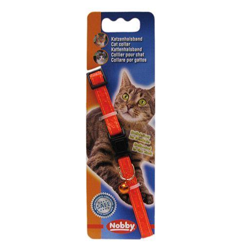 Ошейник для кошек Nobby 78065-04 Неон оранжевый