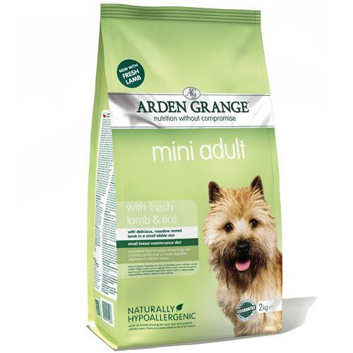 Корм для собак ARDEN GRANGE для мелких пород ягненок, рис сух. 2кг цена