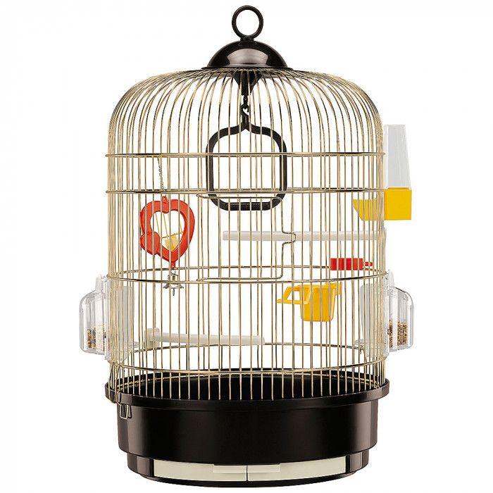 Клетка для птиц FERPLAST REGINA золотая 32.5х49см