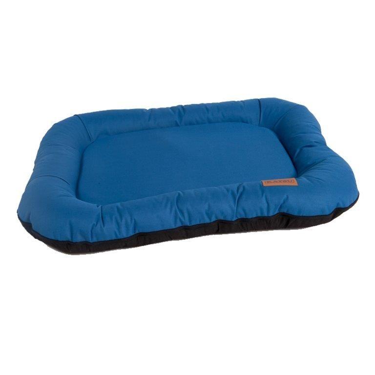 Лежак для животных KATSU Pontone Grazunka синий 70х40х20см лежак katsu sofa orinoko для животных 60 х 44 х 21 см бирюзовый