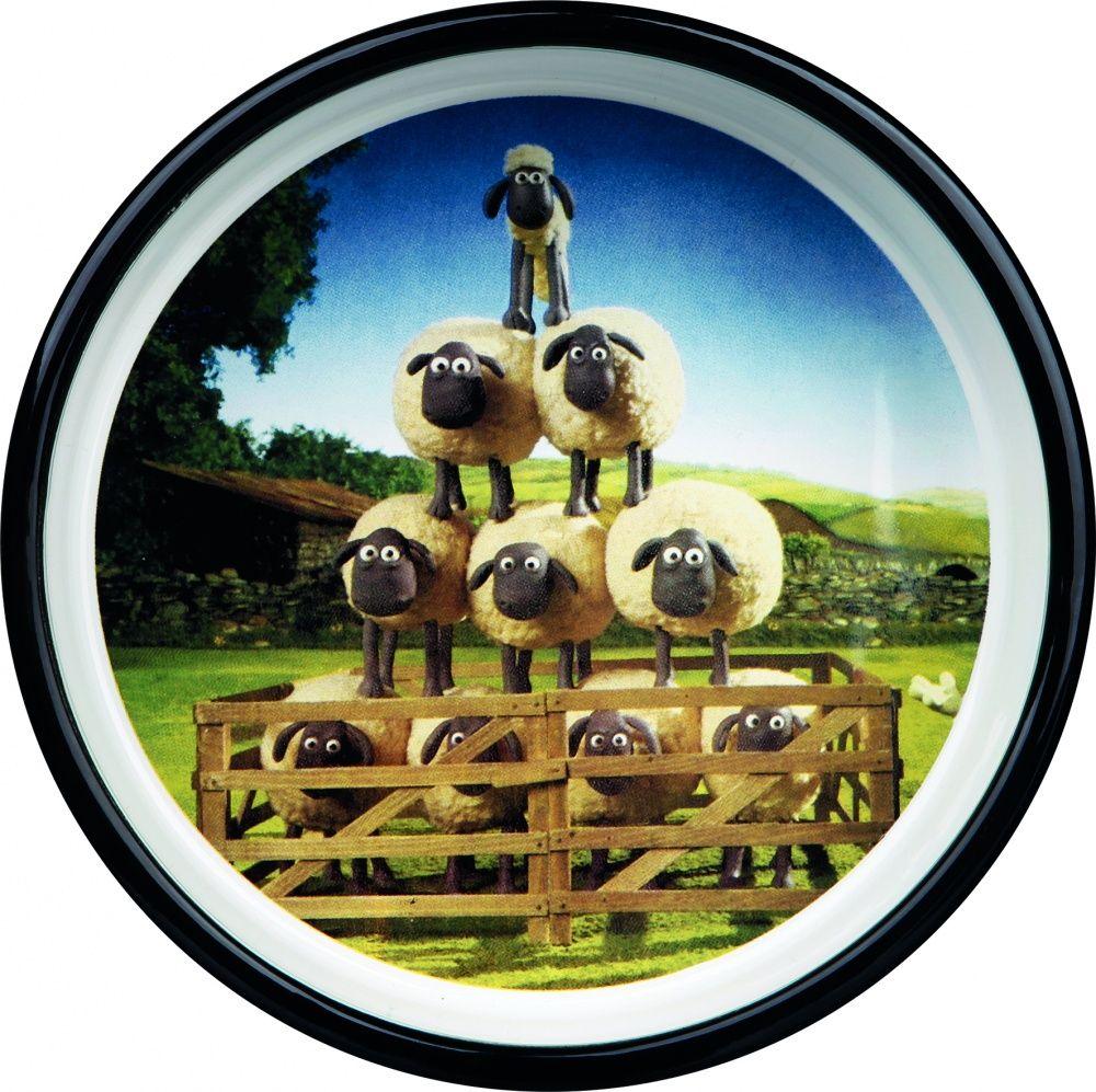 Миска для животных TRIXIE Shaun the Sheep керамическая коричневая 16см 800мл