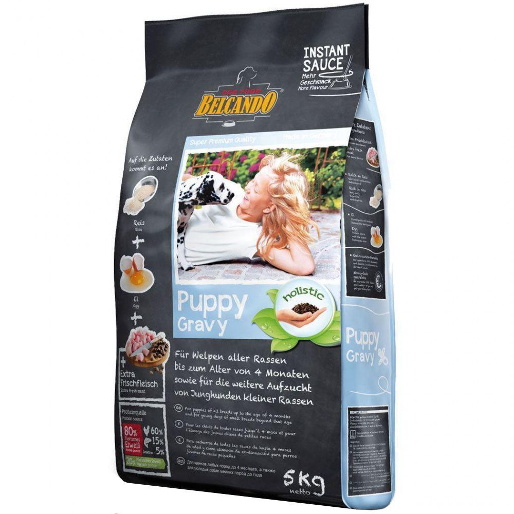 Фото - Корм для щенков, беременных и кормящих собак Belcando Puppy Gravy сух. 5кг belcando сухой корм belcando puppy gravy для щенков с домашней птицей и рисом