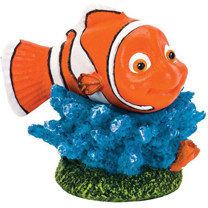 Грот для аквариумов PENN-PLAX Рыба-клоун Немо 4х3,3х4,5см грот для аквариумов artuniq горный обрыв 37x21x29см