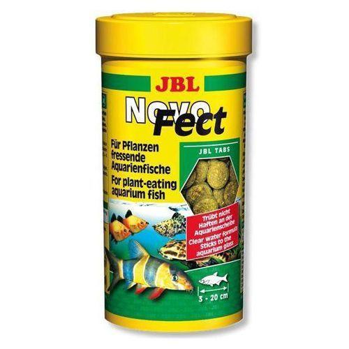 Корм для рыб JBL NovoFect - Корм в форме таблеток для растительноядных рыб, 250мл. (400шт) корм шезир