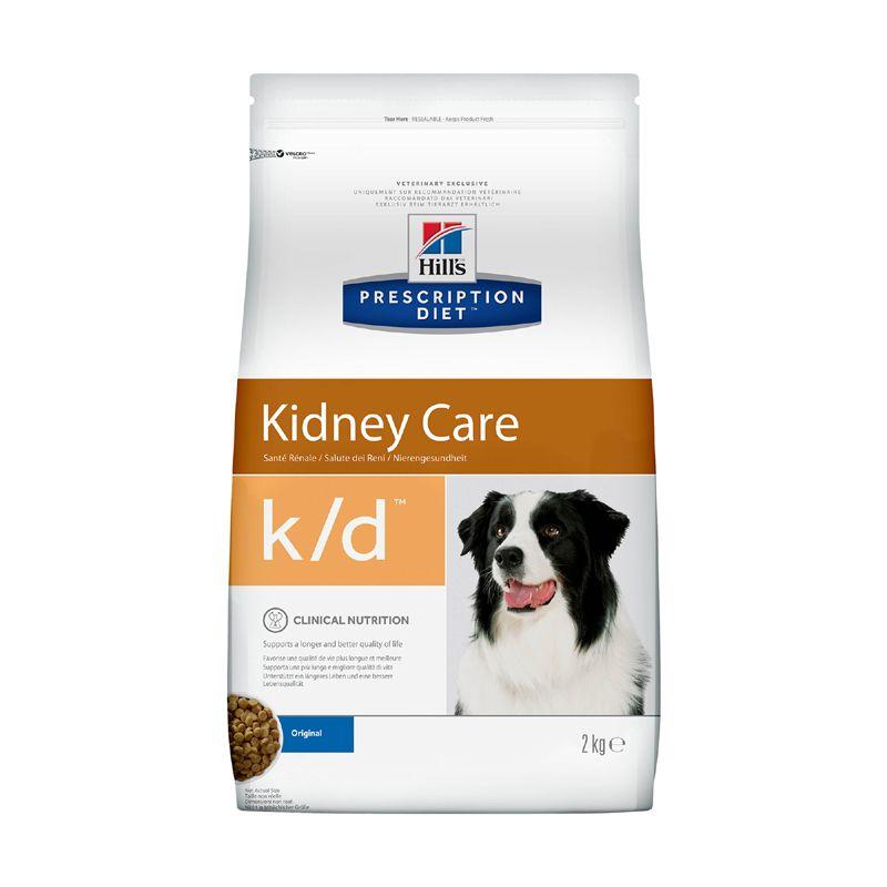 Фото - Корм для собак Hill's Prescription Diet Canine K/D при заболевании почек, курица сух. 2кг корм для собак hill s prescription diet canine z d ultra при пищевой аллергии конс 370г
