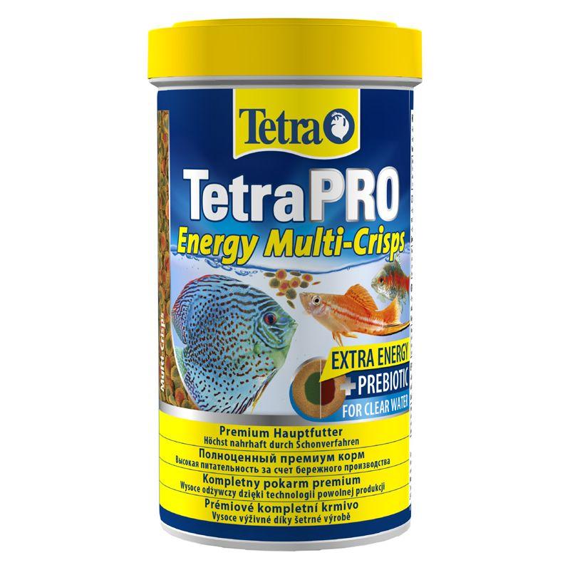 Корм для рыб TETRA PRO Energy корм-чипсы для всех видов рыб для доп.энергии 500мл