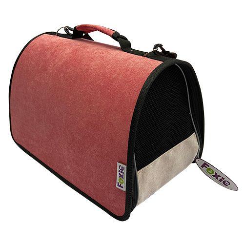 Сумка-переноска для животных Foxie Colour 44х27х27см розовая сумка переноска для животных foxie colour 37х22х21см розовая