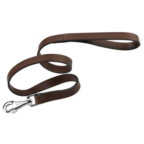 Поводок для собак FERPLAST Vip G20/120 кожаный коричневый