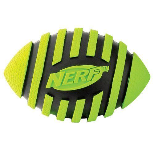 Игрушка для собак NERF Мяч для регби пищащий 12.5см