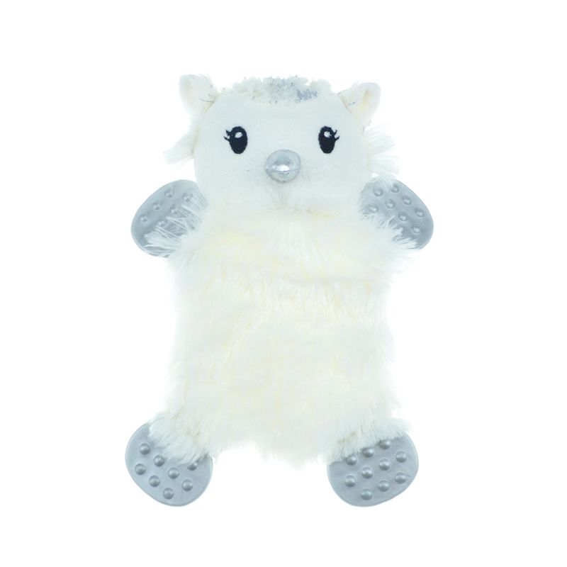 Игрушка для собак CHOMPER Let It Snow Сова плоская с пищалкой 20 см