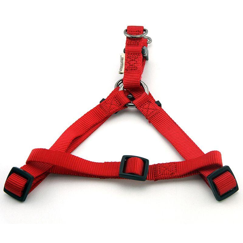 Шлейка для собак Great#and#Small 15мм (обхват 40-50см) красная