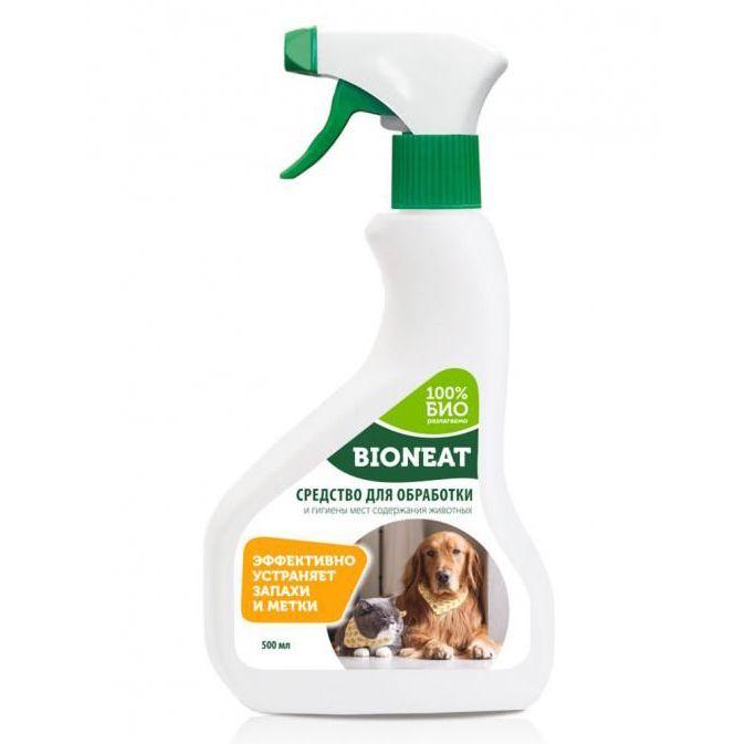 Средство Bioneat для обработки и гигиены мест содержания животных 500мл