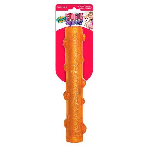 Игрушка для собак KONG Squezz Crackle хрустящая палочка большая 27см