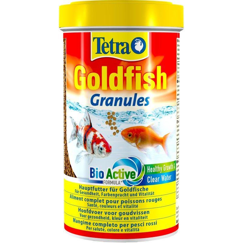 Корм для рыб TETRA Goldfisch granules в гранулах для золотых рыб 100мл корм для рыб jbl novopearl для золотых рыб в гранулах 100мл 35г