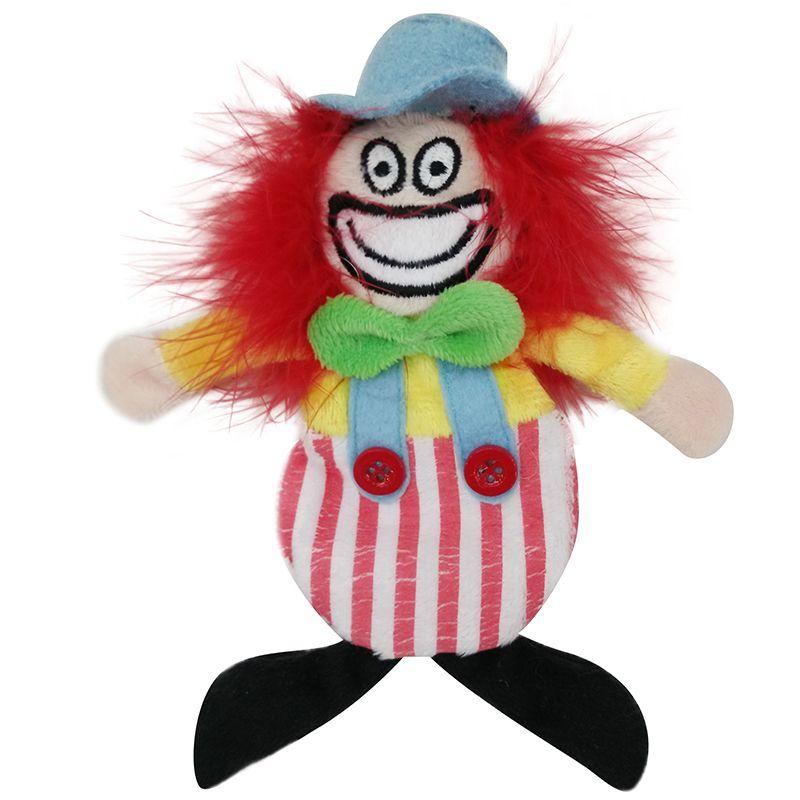 Игрушка для кошек CHOMPER Цирк Клоун с кошачьей мятой игрушка для ванны robofish роборыбка клоун цвет оранжевый белый