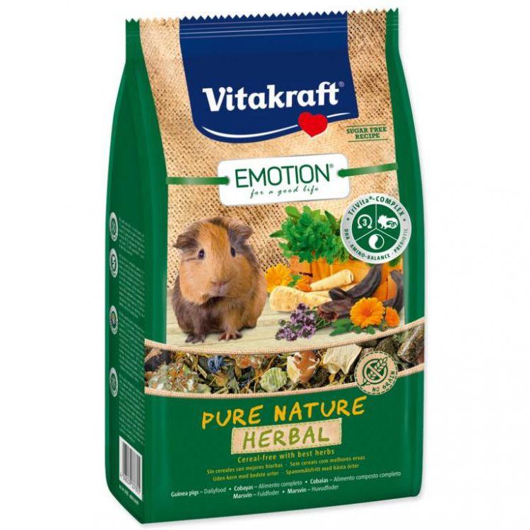 Корм для грызунов VITAKRAFT Pure Nature Herbal для морских свинок