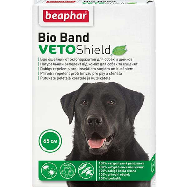 Ошейник для собак Beaphar Bio+ от блох и клещей 65см