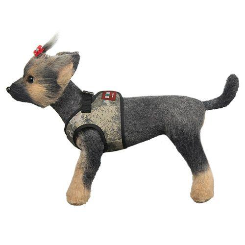 лучшая цена Шлейка-жилет для собак Dogmoda Active-4 42-46см