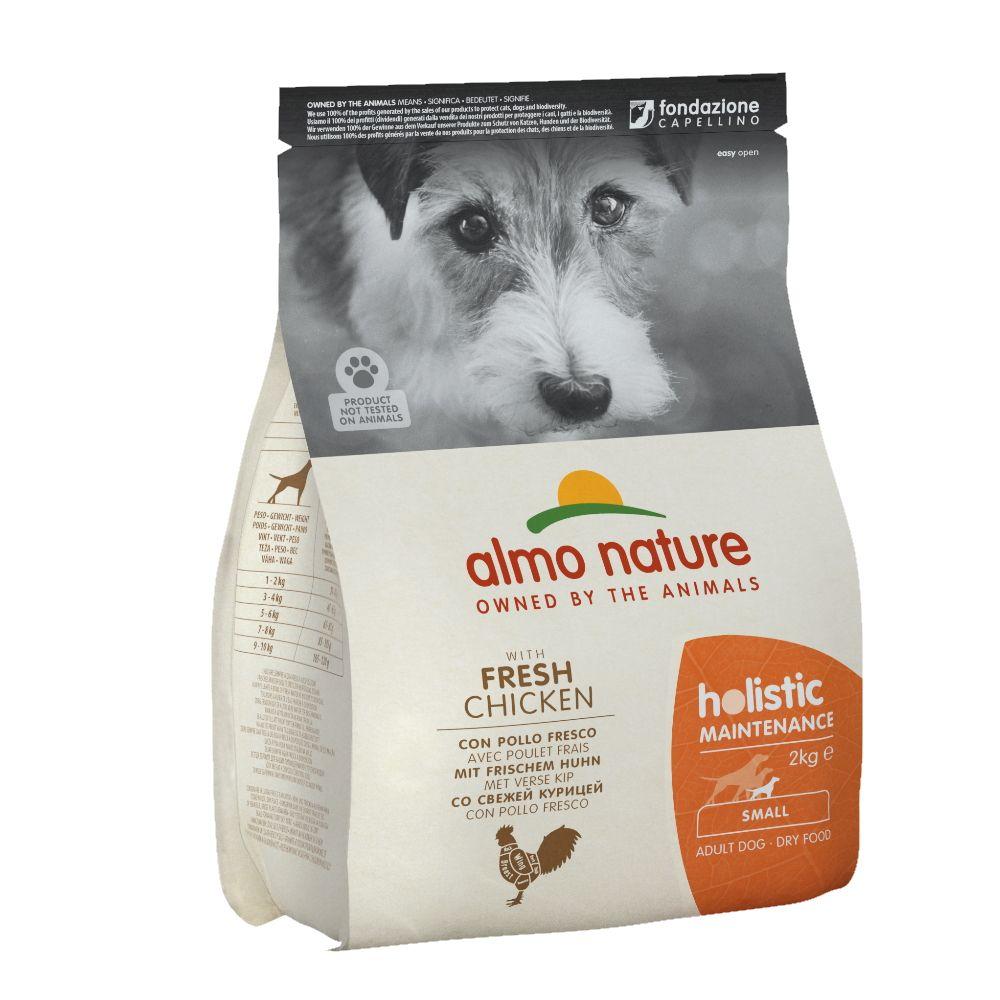 Корм для собак Almo Nature Holistic-XS-S-Maintenance для малых пород, курица сух. 2кг
