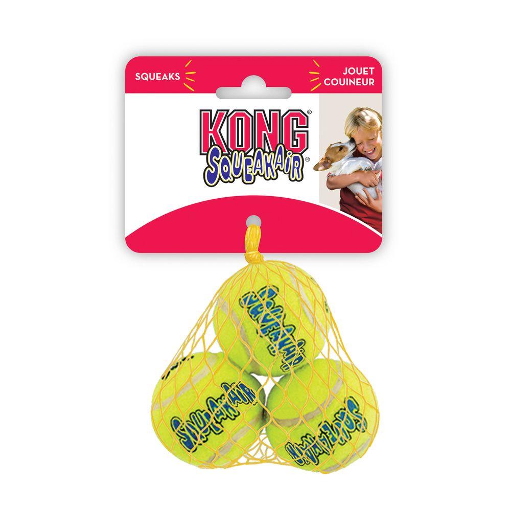 Игрушка для собак KONG Air Теннисный мяч очень маленький недорого