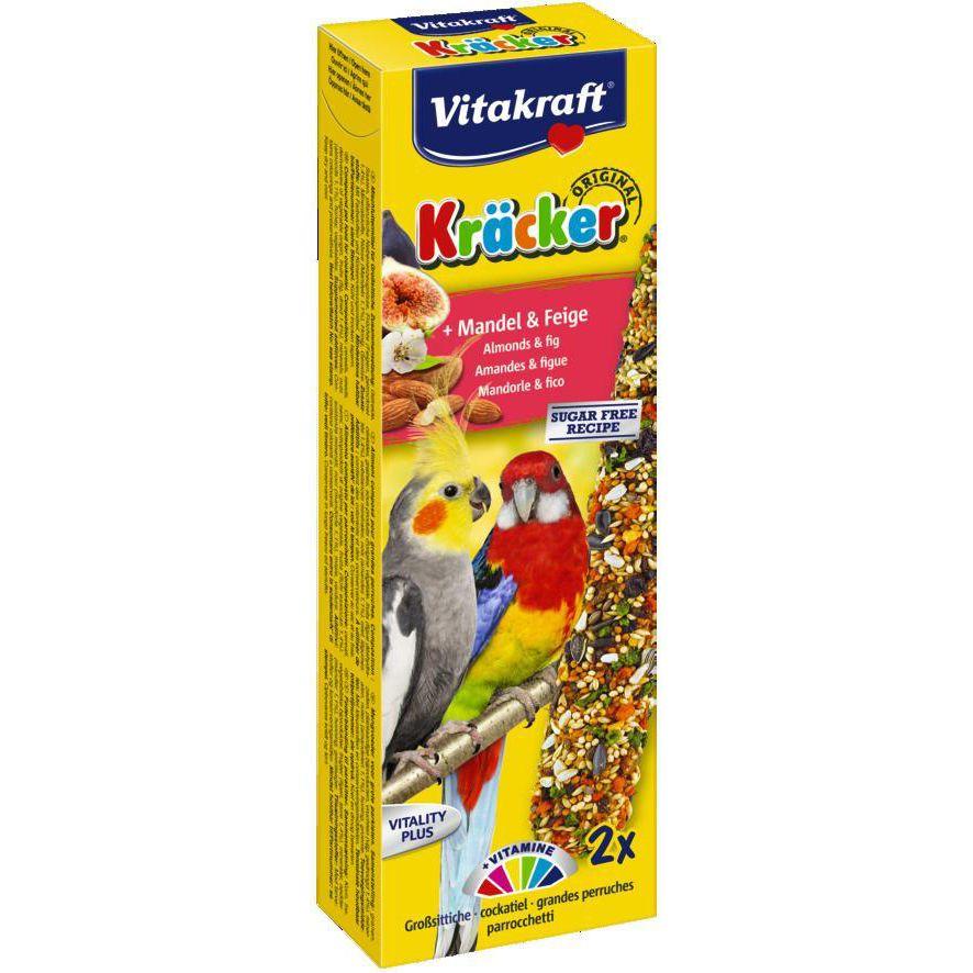 Лакомство для птиц VITAKRAFT Крекеры для австралийских попугаев фруктовые (2шт.уп) снэки тако самурай нори маки кайсо японские крекеры микс 40 г