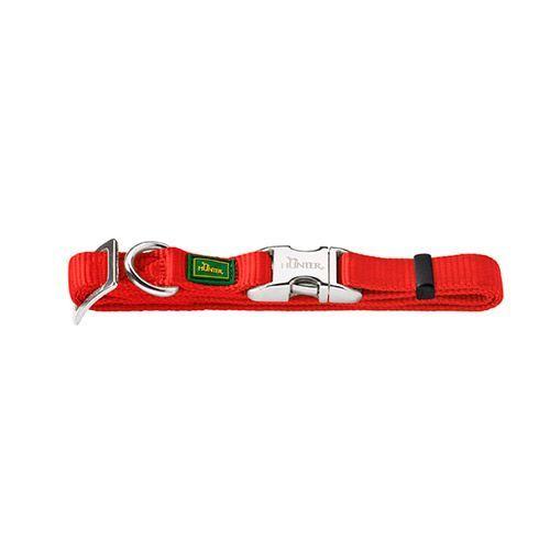 Ошейник для собак HUNTER ALU-Strong M, красный