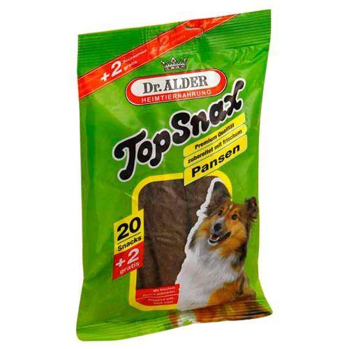 Лакомство для собак Dr. ALDER`s Top Snax Жевательные пластинки с рубцом 20шт йодомарин детский пластинки 24