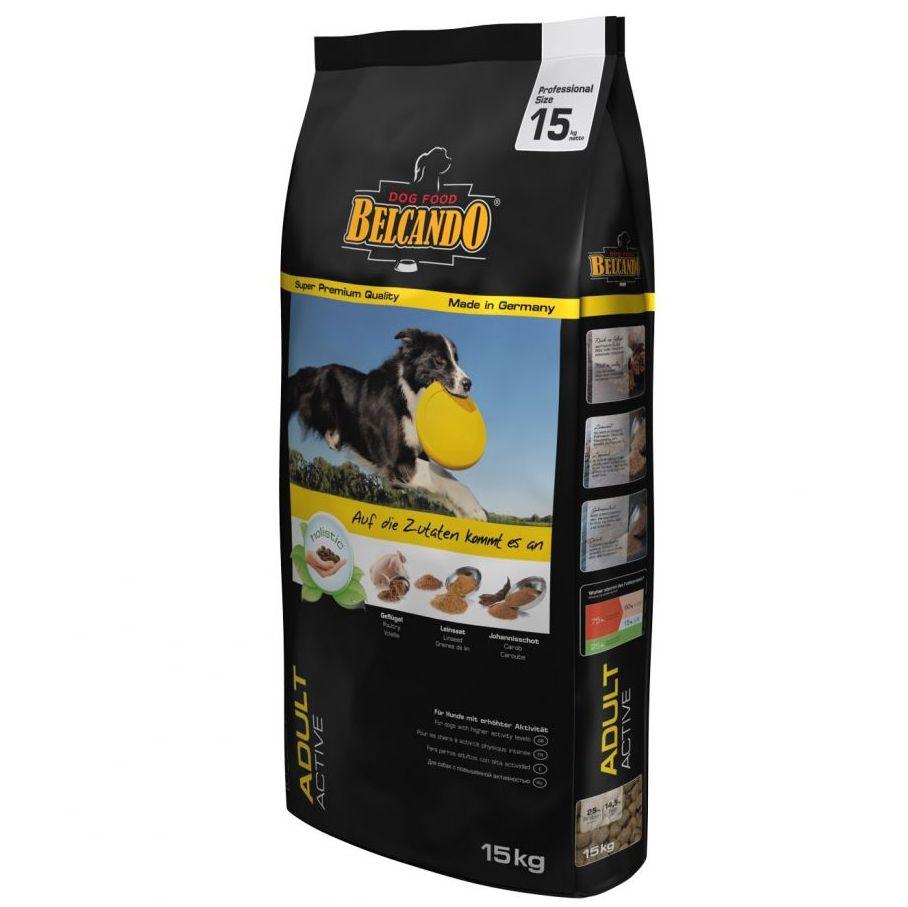 Корм для собак Belcando для активных собак средних и крупных пород сух. 15кг цена и фото
