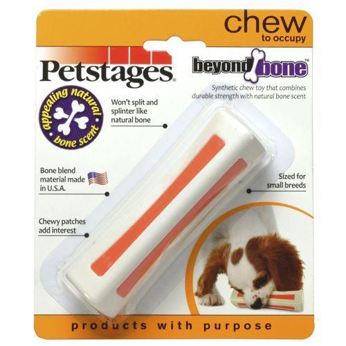 Игрушка для собак PETSTAGES Beyond Bone с ароматом косточки маленькая