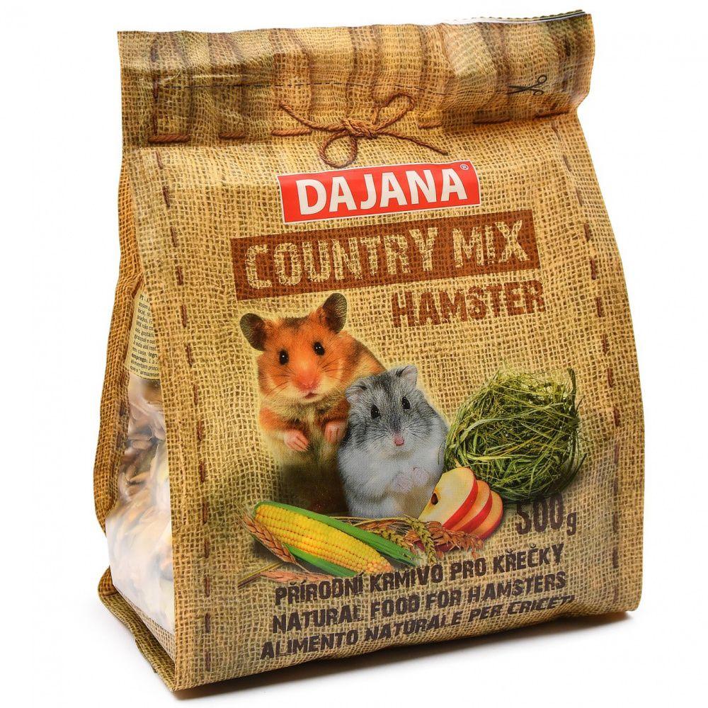 Корм для грызунов DAJANA Country Mix для хомяков сух. 500г смесь высококачественная вака для хомяков 500г
