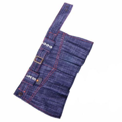 Юбка для собак ДОГ МАСТЕР джинсовая XXL юбка oodji ultra цвет черный 14102007 47508 2900n размер xxl 52