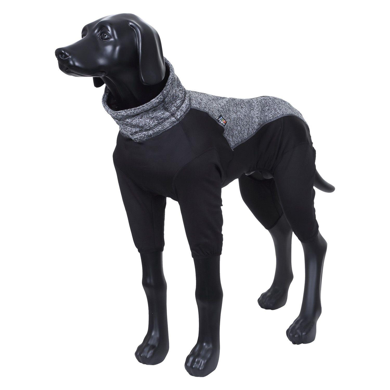 Комбинезон для собак RUKKA Subrima зимний 55см черный цена