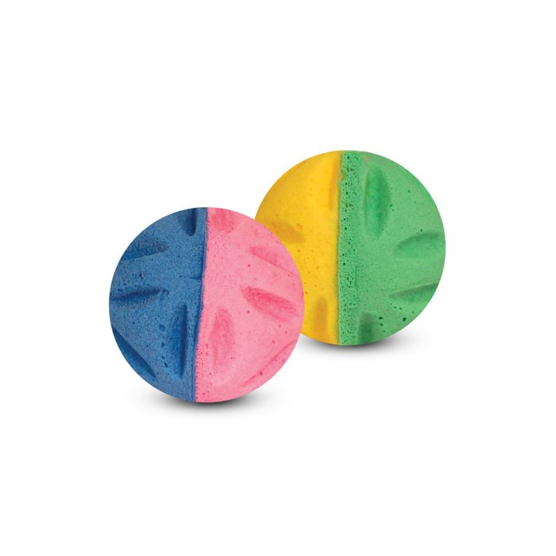 Игрушка для кошек TRIOL Мяч цветочный, d35мм (уп.4шт.)